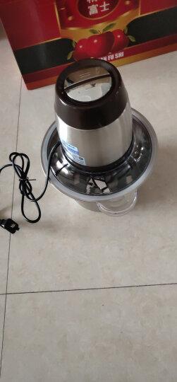 奥克斯(AUX)绞肉机 电动不锈钢碎肉机 家用肉馅机搅碎机蒜蓉机碎菜机搅馅机婴儿辅食机料理机HX-J3022 2.2L 晒单图