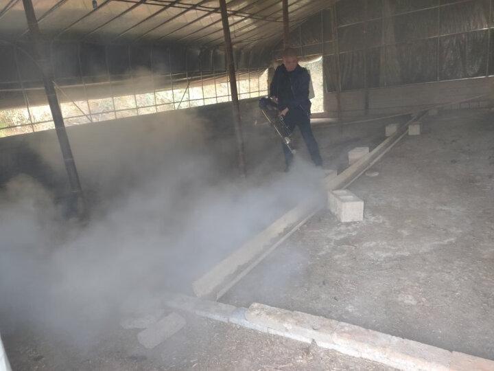 耐尔尼 智能人员消毒通道超声波雾化喷雾养殖场猪场消毒通道雾化消毒机猪场消毒设备 15L不锈钢(手动版) 晒单图