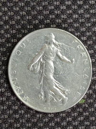 钱邮网外国硬币钱币纪念币法国播谷女神法郎硬币单枚 1/2法郎硬币19.5mm 晒单图