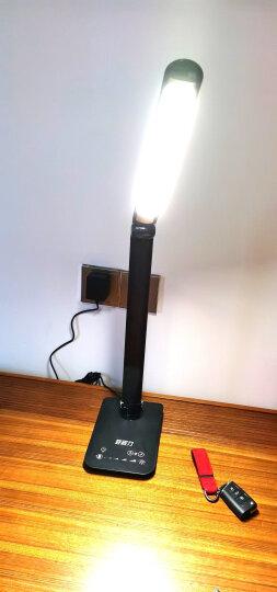好视力 阅读充电led台灯 8瓦大功率触摸调光调色 学生学习儿童卧室客厅书房高续航充电台灯 TG168-C-BK 晒单图