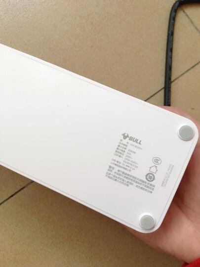公牛(BULL)新国标USB插座/插线板/插排/排插/  3usb接口 6孔全长1.8米带保护门 GN-B333U 晒单图