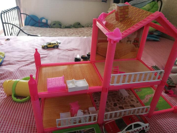 娃娃的房子公主梦幻大别墅之梦想豪宅过家家3-10岁女孩防真度假床屋套装礼盒玩具 953 别墅+背包+贴纸 晒单图