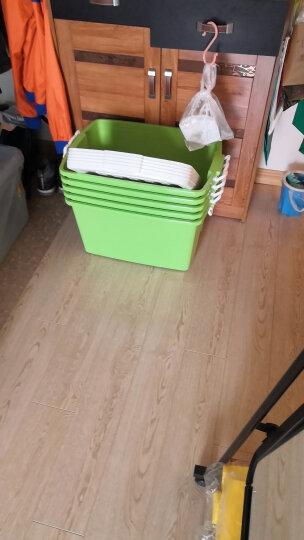 禧天龙 时尚整理箱 箱体加固更耐用 密封性好 收纳箱 储物箱 【沃尔玛】 50L 蒂梵绿 晒单图