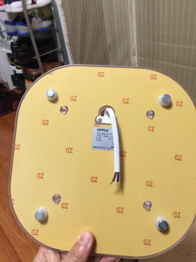 欧普照明led灯板 一体化日光灯盘 超亮节能灯管全套改造光管 (1只装)*24瓦*适用底盘直径≥30厘米 晒单图