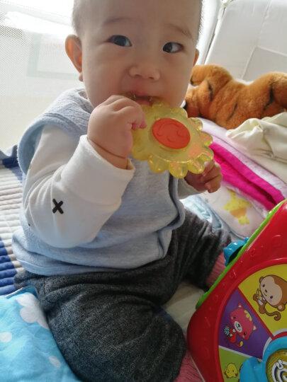 贝亲(Pigeon) 婴儿牙胶 婴儿磨牙棒 婴儿注水牙胶 太阳花状 4月以上 NA15 晒单图