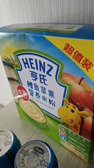 亨氏 (Heinz) 1段 婴幼儿辅食 胡萝卜含维生素 宝宝米粉米糊 400g (辅食添加初期-36个月适用) 晒单图