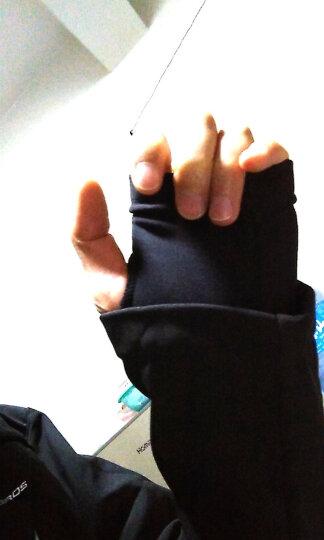 洛克兄弟(ROCKBROS) 秋冬季骑行服套装男女款抓绒骑行裤保暖长袖长裤户外单车运动服 昆仑黑红色一套(零下10度抗寒) L 晒单图