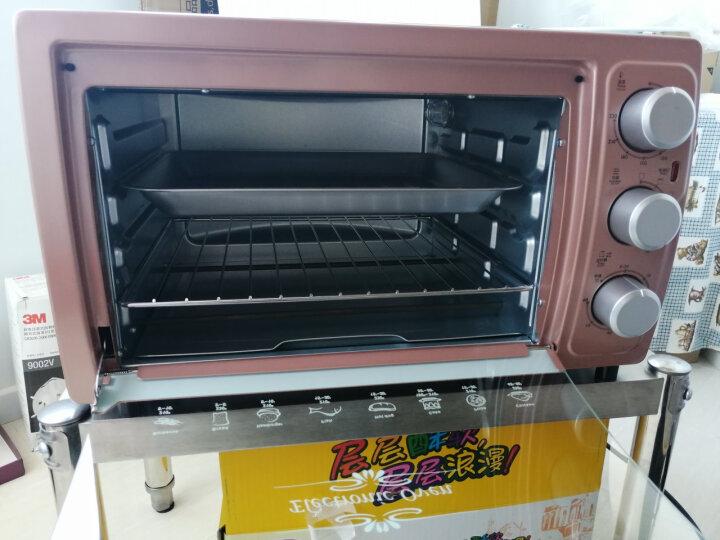 格兰仕(Galanz)家用电器多功能电烤箱30升旋转烤叉防爆炉灯专业烘焙烘烤蛋糕面包KWS1530LX-H7G 晒单图