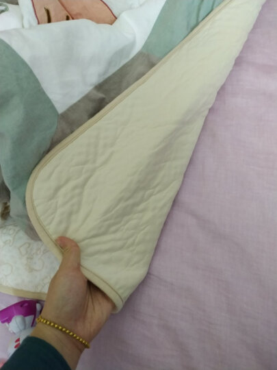 象宝宝(elepbaby)婴儿尿垫 四层加厚 防水透气护理垫 宝宝尿垫100X60CM(2条装)小鹿+大象 晒单图