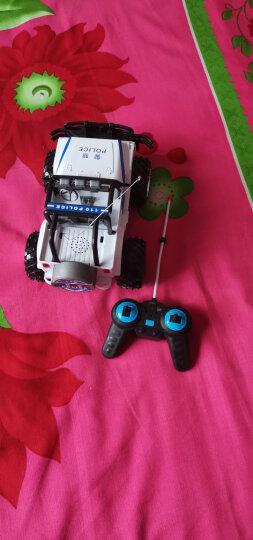 DZDIV 遥控车 越野车儿童玩具大型遥控汽车模型耐摔配电池可充电3030 警车款 晒单图