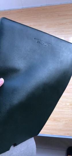 ACECOAT电脑包13.3苹果笔记本Macbook内胆包Pro15男女Air13保护套14/16寸 墨绿色 旧款13.3英寸/新款14英寸 晒单图