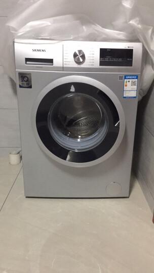 西门子(SIEMENS) 8公斤 变频滚筒洗衣机 智感洗涤降噪节能 筒清洁(银色) XQG80-WM10N1C80W 晒单图