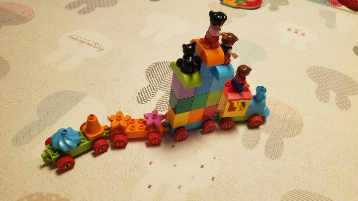 乐高(LEGO)积木 得宝10847 数字火车1.5-3岁 大颗粒早教玩具 男孩女孩 生日礼物 晒单图
