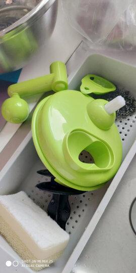 克欧克 手动绞肉机家用多功能切菜器绞菜机蒜泥器手摇粉碎机器捣蒜器碎菜绞菜料理器 包饺子馅机 晒单图