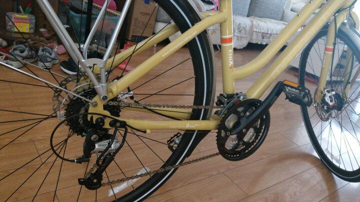 MOMENTUM莫曼顿iSee croX 1爱喜跨世1都会通勤碟刹公路自行车 女款-白月光 晒单图