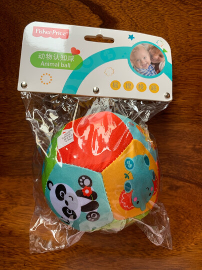 费雪(Fisher Price) 儿童健身球 幼儿园训练球65cm(瑜伽球玩具球 加厚款送打气筒)F0809 晒单图