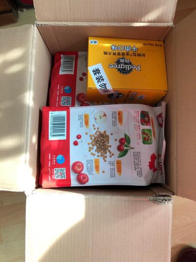宝路狗粮 宠物狗零食 软包狗罐头 幼犬全价妙鲜包 牛肉味85g*12整盒装 晒单图
