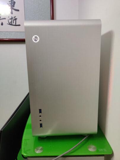 乔思伯(JONSBO)U3 银色 MINI-MATX机箱(支持MATX主板/全铝机箱/ATX电源/175MM高内散热器/260MM长内显卡) 晒单图