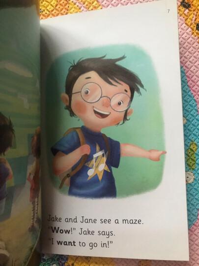 儿童英语启蒙分级绘本·我爱自然拼读·基础级(含16册图书 1张CD 1本亲子阅读手册) 晒单图