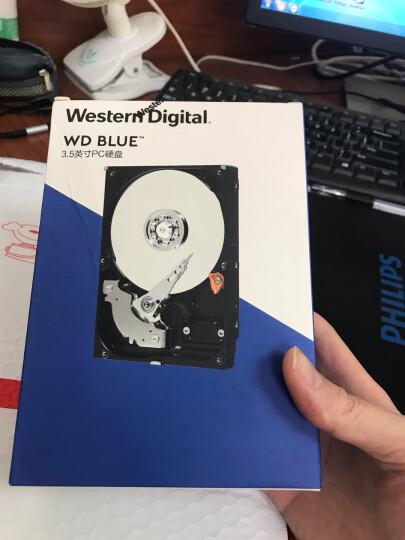 西部数据(WD)蓝盘 4TB SATA6Gb/s 64MB 台式机械硬盘(WD40EZRZ) 晒单图