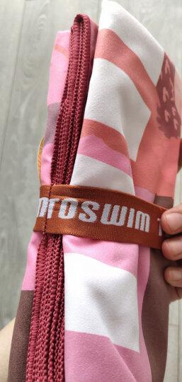 拓胜(TOSWIM)游泳毛巾吸水速干巾温泉沙滩运动旅游必备速干浴巾巴西风情 晒单图