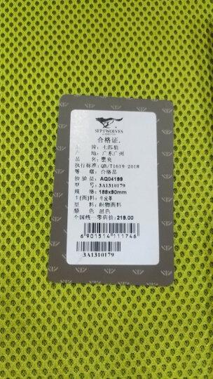 七匹狼钱包男士长款 休闲时尚多功能包商务休闲两折头层牛皮钱夹 3A10239-1黑色 晒单图