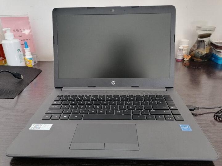 惠普(HP)200G7 14英寸轻薄笔记本电脑 学生本 商务本 定制i5-7200U 8G 500G+256G win10带office 黑色 晒单图