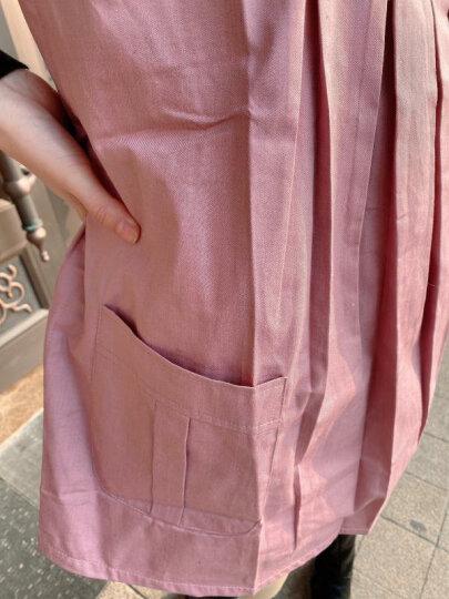 朵雅防辐射服孕妇装上班银纤维防辐射吊带内穿肚兜夏季外穿大码套装 紫色马甲+全银纤维吊带(360°防辐射) XXL【孕前>70KG】 晒单图