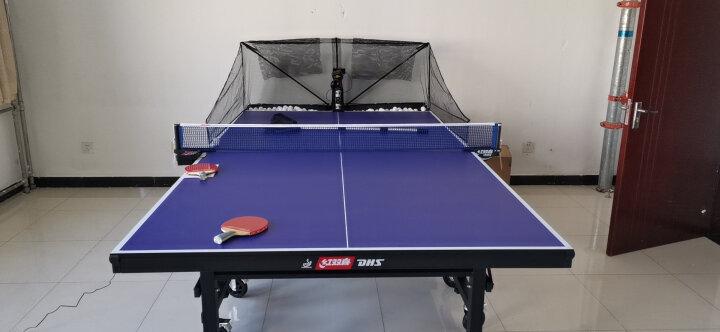 红双喜(DHS)乒乓球桌 折叠式室内专业比赛球台T3526(附网架一副) 晒单图