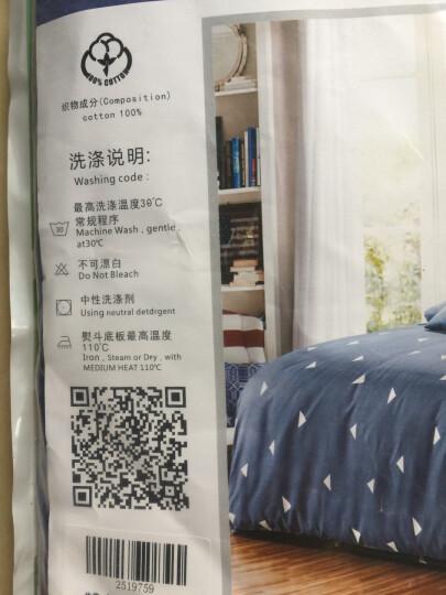 艾薇 单人床垫套纯棉斜纹保护罩防滑床笠1.2米床 40支裸婚时代2 120*200cm 晒单图