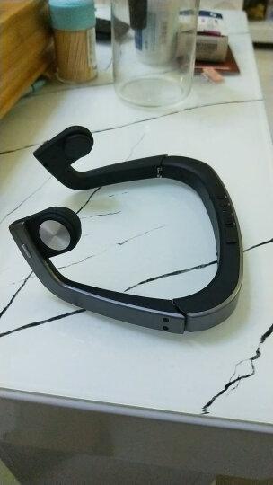 海魔方 骨传导耳机无线运动蓝牙耳机 双耳立体声骨传感助听 后挂头戴式跑步开车骑行音乐通用 LF19苹果声控款(亮白) 晒单图