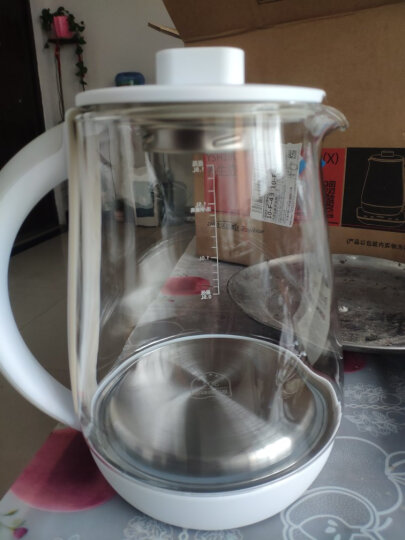 荣事达(Royalstar)养生壶电水壶煮茶器热水壶烧水壶电热水壶迷你玻璃煮茶壶1.8L YSH18Q 晒单图