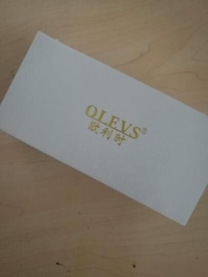 欧利时(OLEVS)进口机芯手表 男简约石英表超薄防水男士手表女表 单个价时尚潮流学生表男表情侣对表 升级版间白女表 晒单图