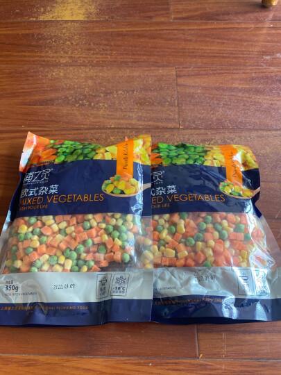 浦之灵 欧式杂菜 350g 甜玉米粒 进口青豆小豌豆 胡萝卜 冷冻蔬菜 晒单图