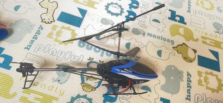 雅得(ATTOP TOYS)遥控飞机 功夫王耐摔航模直升飞机儿童玩具无人机飞行器男孩礼物 615蓝色礼盒装 晒单图