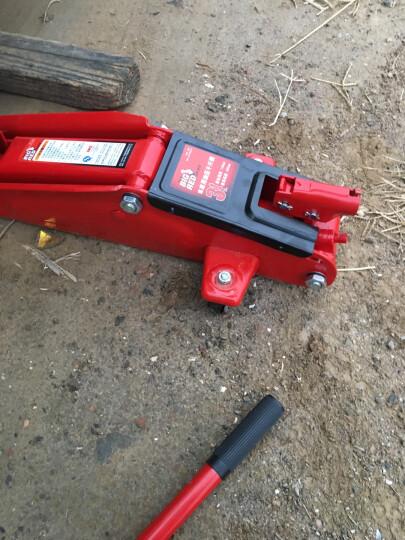 BIG RED红色卧式液压千斤顶3吨 汽车工具小车轿车面包车用换胎工具3T(塑盒款) 晒单图