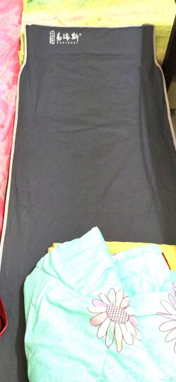 Easyrest 折叠床折叠躺椅办公室单人午休床午睡床户外行军床简易床陪护 10脚布面加强圆管翘头178CM 晒单图