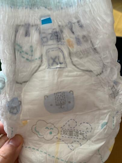 帮宝适一级帮拉拉裤XL40片(12-17kg)加大码婴儿纸尿裤尿不湿超薄透气 晒单图
