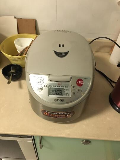 虎牌(Tiger)电饭煲原装进口IH加热方式电饭锅 JKW-A18C 5L驼色 晒单图