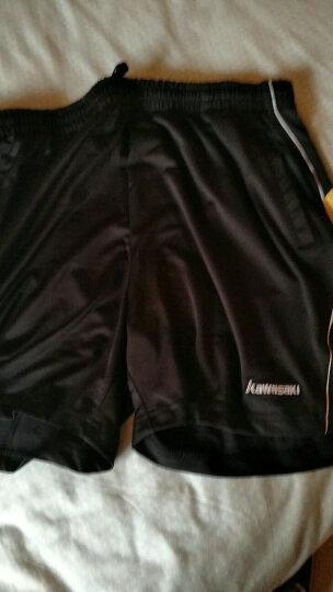 川崎KAWASAKI羽毛球服装男士新款短袖T恤运动休闲衣服圆领吸汗速干深蓝色ST-16125 XL 晒单图