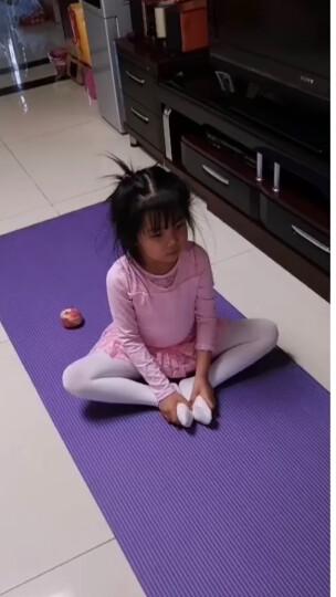 奥义 瑜伽垫 高密度丁腈橡胶加厚加长男女健身垫 防滑运动垫子 深紫(含绑带网包) 晒单图