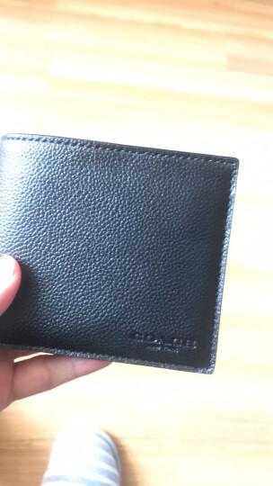 COACH 蔻驰 奢侈品 男士棕色皮质短款钱包 F74991 CWH 晒单图