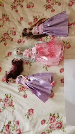 叶罗丽娃娃夜萝莉女孩娃娃公主玩具洋娃娃冰公主罗丽灵公主精灵梦仙子29厘米两身衣服一双鞋子带展示架 29厘米孔雀公主(2身衣服+1双鞋子) 晒单图