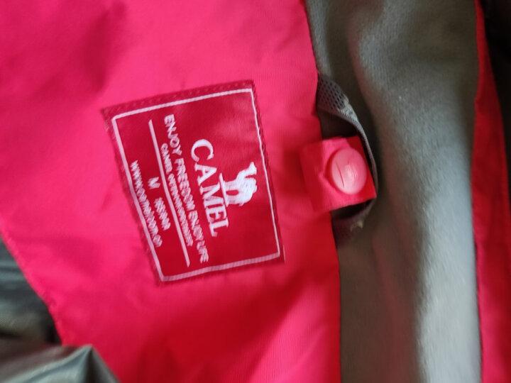 骆驼CAMEL 户外冲锋衣 男女士情侣款防风透气保暖三合一冲锋衣 A4W117009 海洋蓝女款 M 晒单图