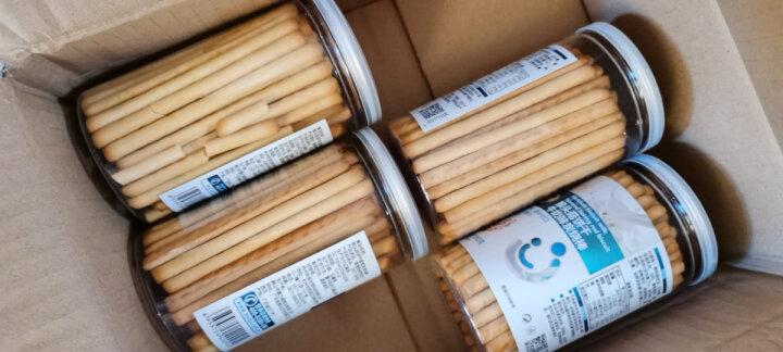 贝兜蛋黄味炭烧棒 猴头菇饼干高钙磨牙饼干儿童零食 160g/罐 晒单图