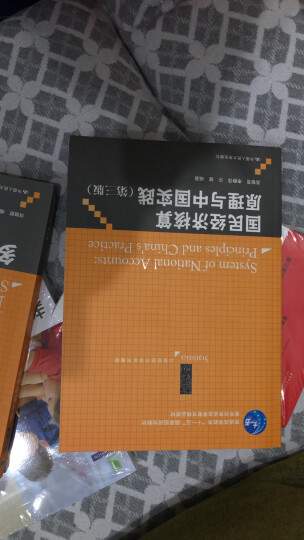 """国民经济核算原理与中国实践(第3版)/普通高等教育""""十一五""""国家级规划教材·21世纪统计学系列教材 晒单图"""