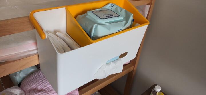 利快 婴儿用品收纳盒日本进口like-it床边收纳篮整理筐储物盒(新款灰色款) 晒单图