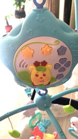 源乐堡(YuanLeBao)婴儿玩具0-1岁床头铃音乐旋转挂饰床铃新生儿摇铃宝宝牙胶0-6个月年货节 (充电版)【赠增高器】遥控版梦幻森林 粉蓝 晒单图