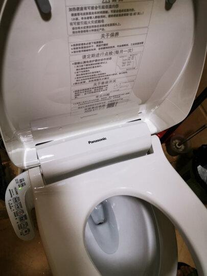松下(panasonic)智能马桶盖 洁身器 电子坐便盖板 加热冲洗DL-1109CWS 晒单图