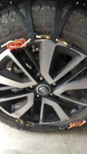 佳卡诺   汽车防滑链 轿车SUV雪地橡胶防滑链 汽车配件 黑色款 型号L-3(2条) 晒单图